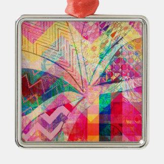 Mariposa femenina abstracta enrrollada colorida vi ornamento para reyes magos