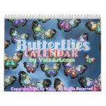 Mariposa Flutterby en el calendario de Valxart