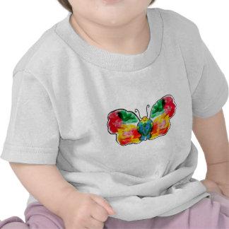 Mariposa Flutterby Camisetas