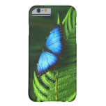 mariposa funda de iPhone 6 barely there