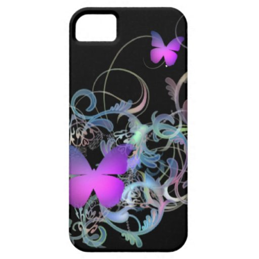 Mariposa Funda Para iPhone 5 Barely There