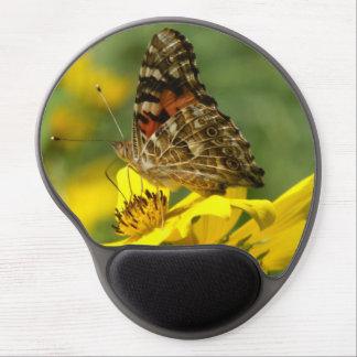 Mariposa, gel Mousepad. Alfombrilla Con Gel