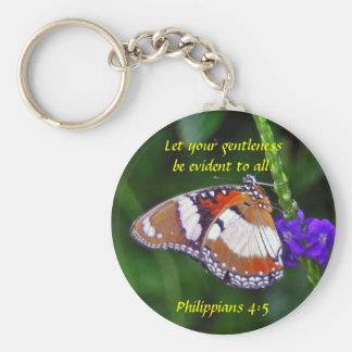 Mariposa - Gentleness Llavero Personalizado