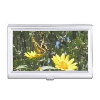 Mariposa gigante de Swallowtail Cajas De Tarjetas De Visita