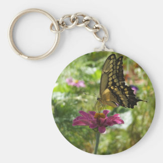 Mariposa gigante de Swallowtail Llavero