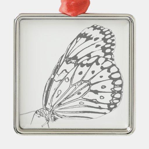 Mariposa gráfica ornatos