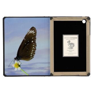 Mariposa gran Eggfly de la luna azul
