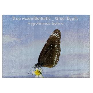 Mariposa gran Eggfly de la luna azul Tablas Para Cortar
