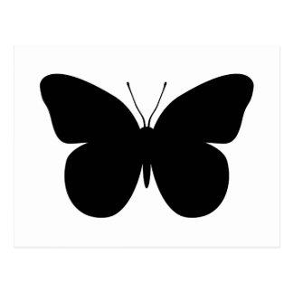 Mariposa grande postal