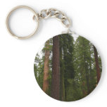 Mariposa Grove in Yosemite National Park Keychain