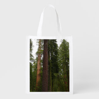 Mariposa Grove in Yosemite National Park Reusable Grocery Bag