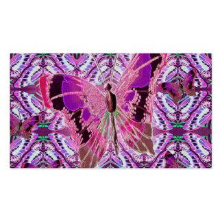 Mariposa hermosa plantillas de tarjetas personales