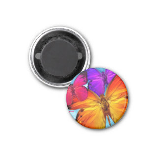 Mariposa Home of Yosemite and Butterflies Refrigerator Magnets