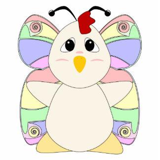 Mariposa Huggable del pollo Escultura Fotográfica