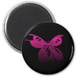 mariposa iman de frigorífico