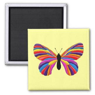 Mariposa imposible imán de frigorifico