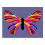 Mariposa imposible tarjetas postales