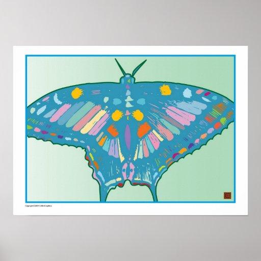 Mariposa ingeniosa 5-Print Póster