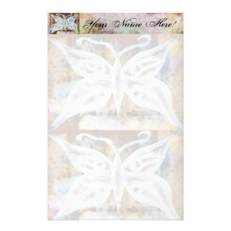 Mariposa inmóvil papeleria de diseño