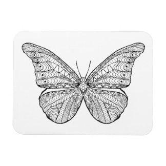 Mariposa inspirada imanes flexibles