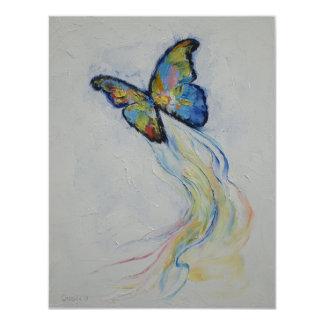 "Mariposa Invitación 4.25"" X 5.5"""