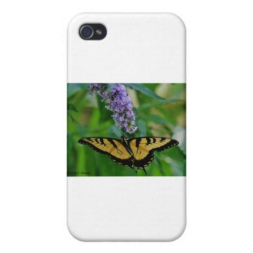 Mariposa iPhone 4/4S Carcasa