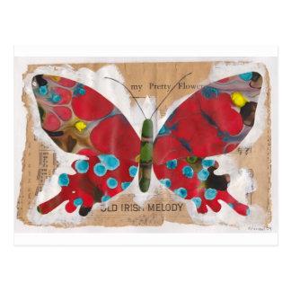 Mariposa irlandesa de la melodía postal