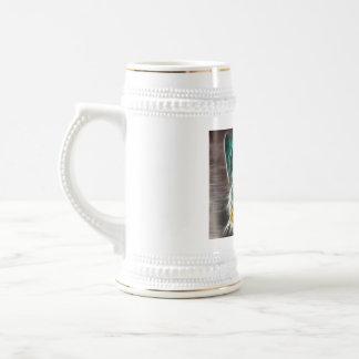 mariposa jarra de cerveza
