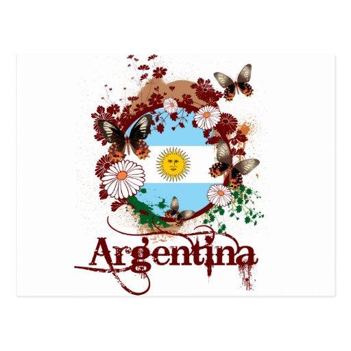 Mariposa la Argentina Postal