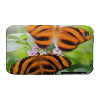 Mariposa larga 2 del ala de la cebra funda para iPhone 3 de Case-Mate