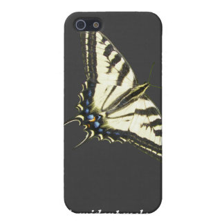 Mariposa Lepidopterology del swallowtail del tigre iPhone 5 Carcasas