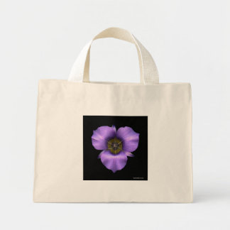 Mariposa Lily on black, Bag