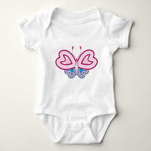 mariposa linda body para bebé