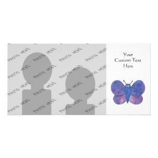 Mariposa linda tarjetas fotograficas personalizadas