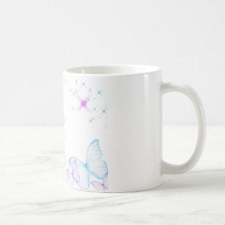 Mariposa linda tazas
