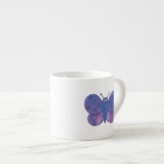 Mariposa linda taza espresso