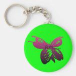 mariposa llavero
