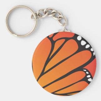 Mariposa Llavero Redondo Tipo Pin