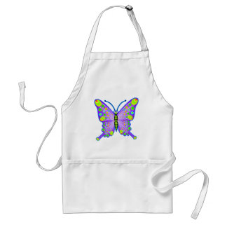 Mariposa manchada 3 delantal
