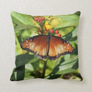 Mariposa manchada cojin
