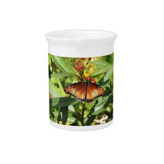 Mariposa manchada jarra