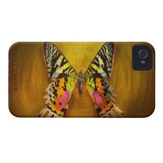 Mariposa - mariposa de la felicidad iPhone 4 carcasas