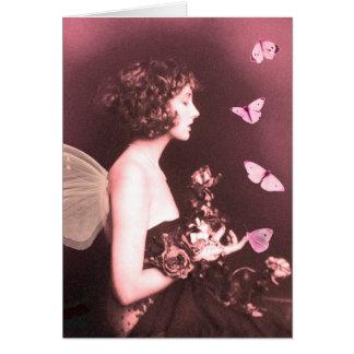 Mariposa, mariposa tarjeta de felicitación