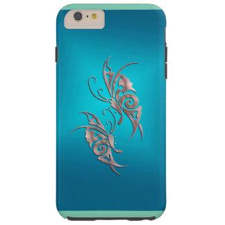 mariposa más del caso del ambiente del iPhone 6 Funda De iPhone 6 Plus Tough