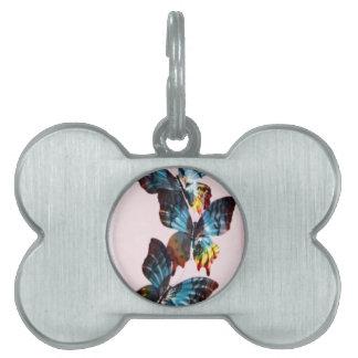 mariposa placas mascota