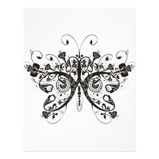 Mariposa Membretes Personalizados