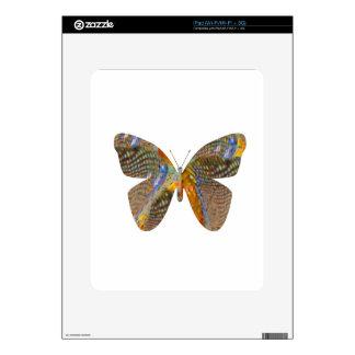 Mariposa mi manera skins para iPad