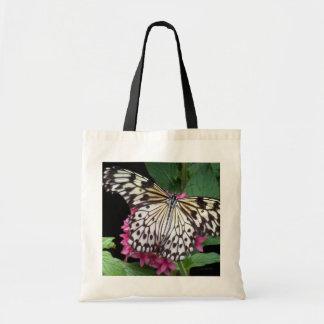 Mariposa modelada blanco negro bolsas