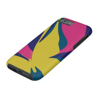 Mariposa moderna funda de iPhone 6 tough