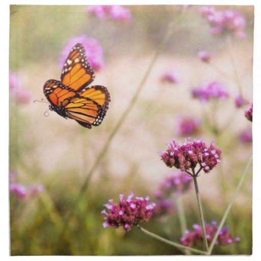 Mariposa - Monarach - la vida dulce Servilleta De Papel
